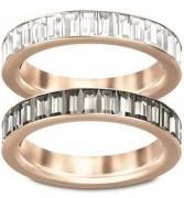 50 % Sale Swarovski 5063708 Kristall Band Ring Set Größe 52 9009650637087