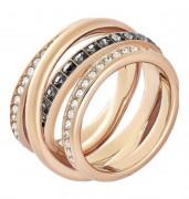 50 % Sale Swarovski Dynamic Ring Artikelnummer: 5184220 EAN: 9009651842206 Kristalle schwarz weiß grau Material: Rosé vergoldet Kollektion: Dynamic
