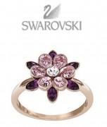 50 % Sale Swarovski Cinderella Flower Ring 5118312 Size: 55 Flower Disney Character Innendurchmesser 17,5 mm 9009651183125
