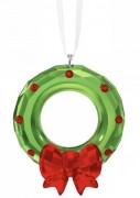 50 % Sale Swarovski Weihnachtskranz Ornament  Artikel Nr. 5223687 EAN: 9009652236875