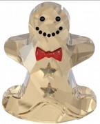 50 % Sale Swarovski Schaukelner Lebkuchen  Rocking Gingerbread Man 5004554 , 9009650045547 Größe 2.9 x 3.7 cm Dimensions: 1 1/8 x 1 7/16 inches. Kristall klar beige