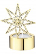 50 % Sale Swarovski Goldstern Teelicht Tea Light Golden Star Artikel Nr. 5030478 EAN: 9009650304781