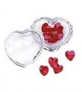 30,%, Sale, Swarovski Herzdose mit roten Herzen  Artikel Nr. 693910 EAN 9003146939105 Größe 6 x 6 x 6 cm Kristall klar  kleine Herzen rot