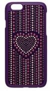 50 % Sale Swarovski Smartphone cover Iphone 6 und 6s Purple Smartphone Case Betty Romantic  Incase, 5177366