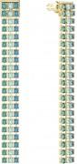 30 % Sale Swarovski 5385598 - Fit Ohrringe, mehrfarbig, vergoldet 9009653855983