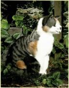 Plüschtier sitzende Katze Minka Art. Nr. 3951 Fa. Kösen