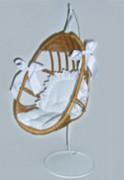 Hängekorb mit Ständer Art.-Nr. 1/5/35 40cm/28cm/25cm