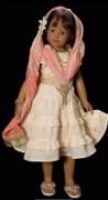 neue originale Puppenkleidung Shantala by Heidi Plusczok original 2007 für 55cm (21,5') Puppe