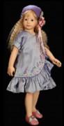 neue originale Puppenkleidung Eloise by Heidi Plusczok original 2007 für 55cm (21,5') Puppe