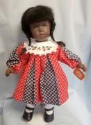 UNIKAT Käthe Kruse Klassik Puppe Schummelchen Raja 34 cm