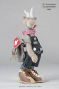 Steinbock - Capricorn  DesignerBär 32 cm limitiert auf 7 Stück weltweit Nicole Marschollek Menzner
